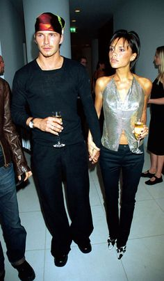 Victoria Beckham at the Launch of Jade Jagger's jewelry line - September 1999 | Grazia Fashion