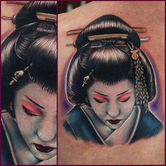 tattoos de geishas