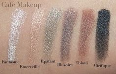 Chanel Illusion D'Ombre Swatches.