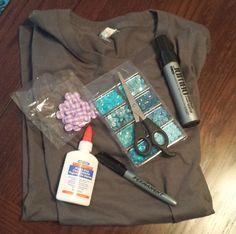 Super Fun No-Sew T-shirt Into a Tote | International Geek Girl Pen Pals Club #IGGPPC