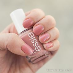 I already picked up a bottle of this at CVS. It's a great neutral for the office. Essie Eternal Optimist Nail Polish