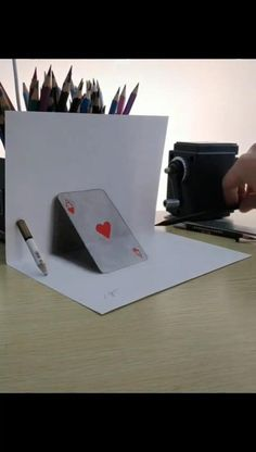 Exploring Hyperrealism Drawing and Painting Techniques. 3d Pencil Drawings, Doodle Art Drawing, Cool Art Drawings, Amazing Drawings, Art Drawings Sketches, Easy Drawings, Easy 3d Drawing, Instruções Origami, Learn Art