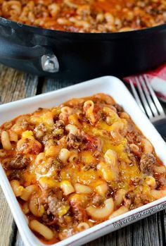 My family loves this recipe and I always have everything to make it on hand.