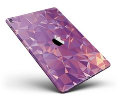 "Pink Geometric V13 Full Body Skin for the iPad Pro (12.9"" or 9.7"" available) from DesignSkinz"