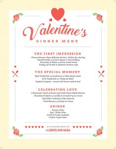 Valentines Day Special Menu with 3 courses + wine, beer, cocktail or prosecco from 695RD at The HotSpot Company, Cabarete Beach Bar, Dominican Republic