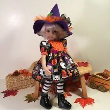 """Halloween Scream"" Made for 13"" Effner Little Darling by Treasured Doll Designs"