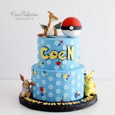 https://flic.kr/p/Hr7TWu | Pokemon Cake. ©Coco Paloma Desserts