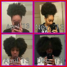 Natural hair journey. Be patient now it takes time. .