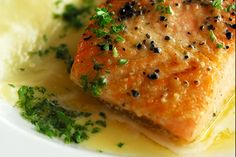fish sauce for salmon | Grilled salmon in lemon butter sauce - DSC_1347 copy | Flickr - Photo ...