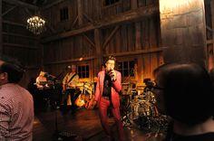50 Amp Fuse performing at a Michigan outdoor barn wedding.