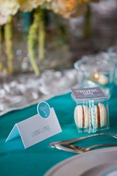aqua, yellow, & silver wedding  //  env photography