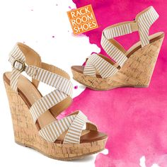 Classic women's wedges are a staple in any closet! #iAmRackRoom