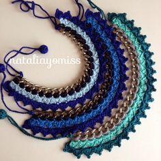 New crochet bracelet chain ideas Crochet Diy, Crochet Shoes, Bead Crochet, Crochet Motif, Textile Jewelry, Boho Jewelry, Jewelry Crafts, Jewelery, Diy Accessories