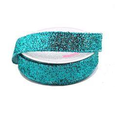 Sparkling Glitter Ribbon Wired Edge, 5/8-Inch, 10 Yards
