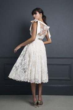 CHRISTABELLE SKIRT & IRENE TOP   WEDDING DRESS BY HALFPENNY LONDON