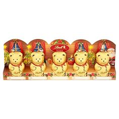 Lindt Teddy Bears 5 x 10g -- Awesome products selected by Anna Churchill