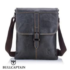 0abe4f268c74 BULLCAPTAIN Men Business Genuine Leather Shoulder Bag - FREE SHIPPING  WORLDWIDE  fashion  clothing  shoes  accessories  mensaccessories  bags ( ebay link)
