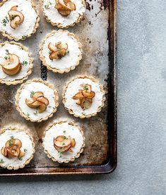 pear + thyme tarts | what's cooking good looking