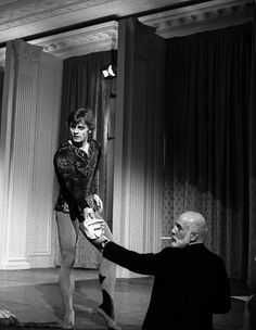 Baryshnikov and Robbins at the White House in 1979 Jerome Robbins, Mikhail Baryshnikov, Russian American, George Balanchine, American Ballet Theatre, West Side Story, City Ballet, Shall We Dance, Dancer