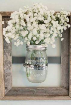 Pretty flower vase