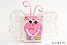 Candy valentine crafts for kids