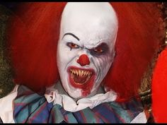 Pennywise / IT - Makeup Tutorial!