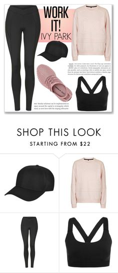 """WORK IT!!"" by yannarc ❤ liked on Polyvore featuring Topshop and Ivy Park"