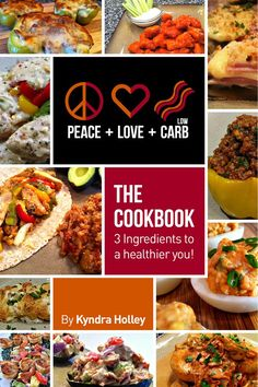 This website has the best recipes! Peace love low carb :)