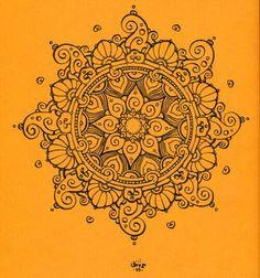 Mandala ..I like the swirls on the outside :)
