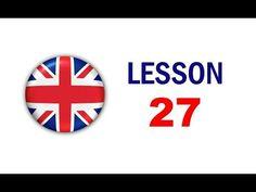 Kurz angličtiny pro samouky: Lekce 27 - YouTube English Speech, English Story, Teaching English, Learn English, Oxford English, Voice Of America, Safety Posters, American Story, Free Printable Worksheets