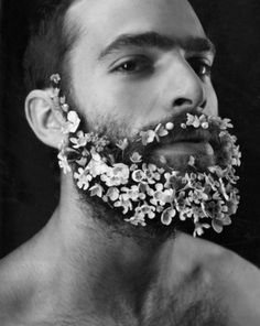 grow an awesome beard and put flowers in it.