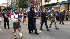 Carnaval Oviedo 2017 -Banda de Gaitas Ciudad de Oviedo- Inicio