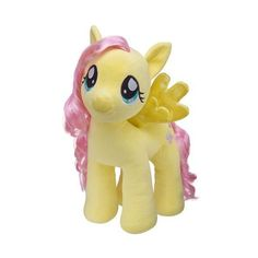 Build a Bear Workshop, MY LITTLE PONY FLUTTERSHY Stuffed Animal, 15... ($13) ❤ liked on Polyvore featuring stuffed animal