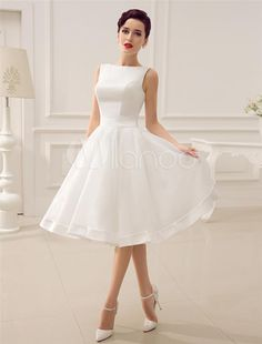I found some amazing stuff, open it to learn more! Don't wait:http://m.dhgate.com/product/2015-short-wedding-dresses-vintage-bateau/231185504.html