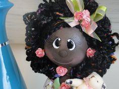 Boneca Negra em EVA
