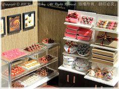 My Dollhouse Miniature の Chocolates Shop