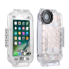 Puluz Brand Photo Accessories, GoPro Accessories - PULUZ for iPhone 8 & 7 Waterproof Diving Housing Photo Video Taking Underwater Cover Case(Transparent) Photo Accessories, Camera Accessories, Iphone 8, Iphone Cases, Camera Rig, Sports Camera, Underwater Photography, Rigs, Protective Cases
