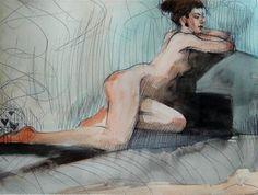"""Daily Paintworks - """"Auction#24"""" - Original Fine Art for Sale - © Michael Mikolon"""