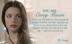 I'm Corey Mason. Which '90s gal are you?  - Quiz