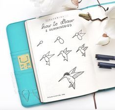 Think you can't Draw? You Can! Make lots of cute Doodles for your PLanner or Bullet Journal