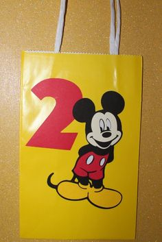Mickey Mouse Favor Bags by tim7abebra on Etsy, $2.25