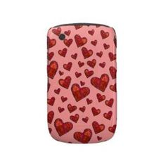 Hearts Blackberry case from Zazzle.com
