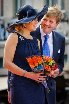 King Willem-Alexander and Queen Maxima of The Netherlands visit Roosendaal in the province Noord-Brabant during a tour through the Netherlands, 12 June 2013