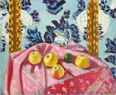 Henri Matisse Still Life with Apples on a Pink Tablecloth (1924)
