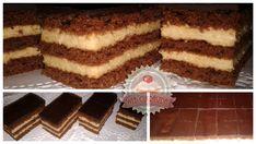Lajcsi mézes Tiramisu, Muffin, Food And Drink, Ethnic Recipes, Paplan, Childhood Memories, Drinks, Sheet Cakes, Drinking