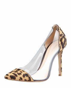 I absolutely love these. PACK: leopard prints. Gianvito Rossi preferred.