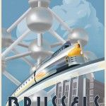 Nice Brussels Poster by Steve Thomas