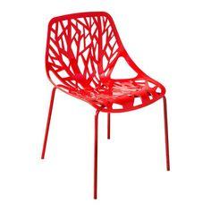 Cadeira Consuelo Vermelha By Haus