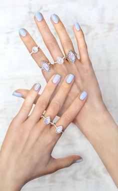 Princess Rainbow Moonstone Ring by LVNFar
