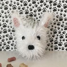 If you are a dog lover and also love to crochet, this dog crochet pattern will allow you to recreate this adorable Westie mug cozy! You do not need to be an experienced crocheter, I include lots of pictures and Angels Tips to make this an easy and fun project to do! It is easy to customize as well, simply choose your yarn colors accordingly! The cozy slides up your travel mug for a snug fit around the middle. It will stretch to fit most cup sizes. The cozy also looks adorable on water…